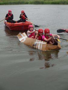Cardboard Canoe Race 4